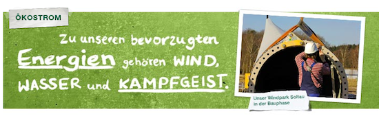 Greenpeace Strom