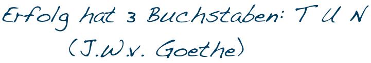tun Goethe